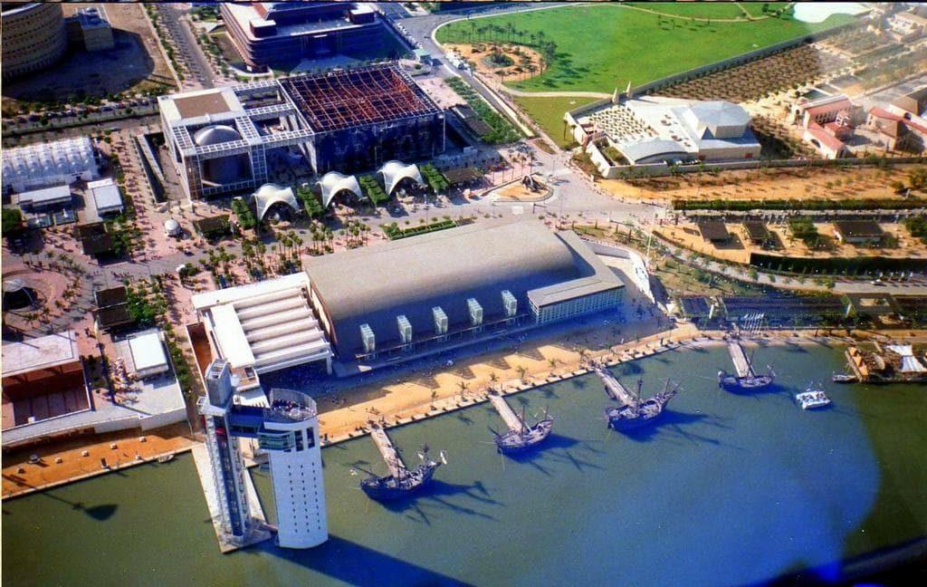 Sevilla, puerto, Expo 92