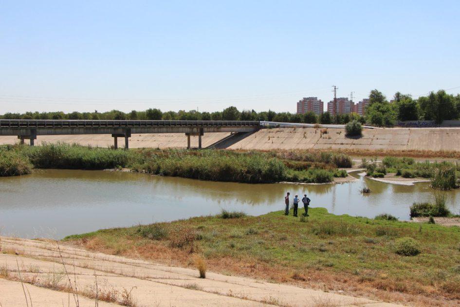 Corredor verde Sevilla dos Hermanas