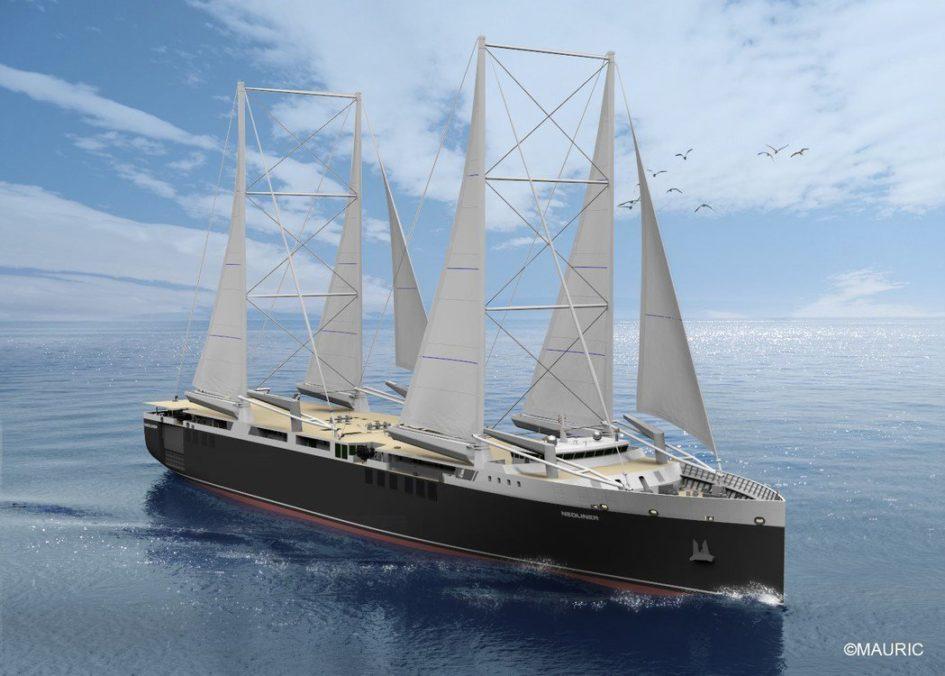 velero transporte mercante europeo.