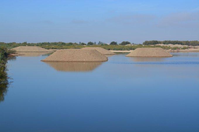 islotes, dragado de mantenimiento, regeneración estuario,