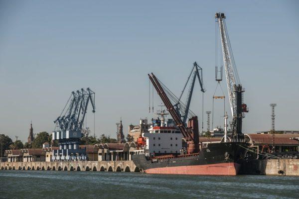 Muelle de Tablada, Distrito portuario,