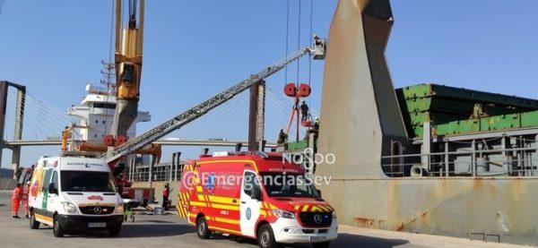 Emergencia, Puerto de Sevilla