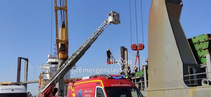 Emergencia en el Puerto de Sevilla