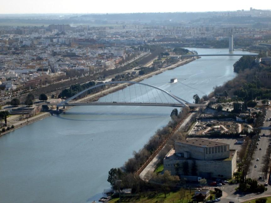 río Guadalquivir, Sevilla, Expo 92