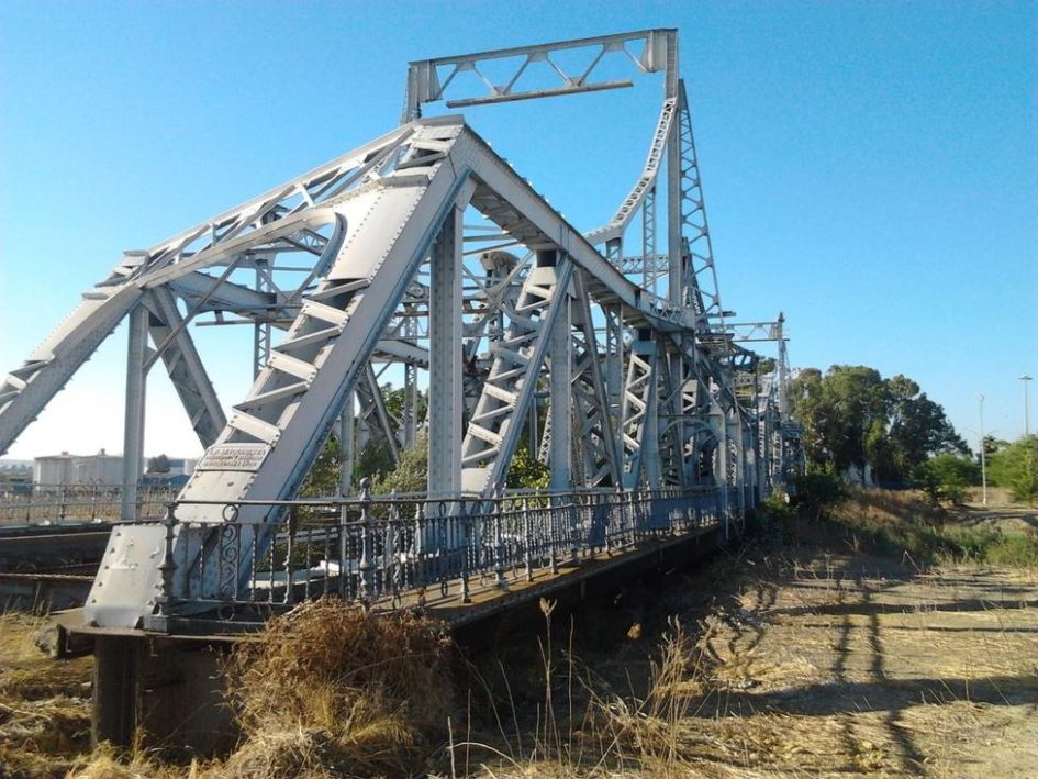Puente Alfonso XIII, puente de hierro, Sevilla