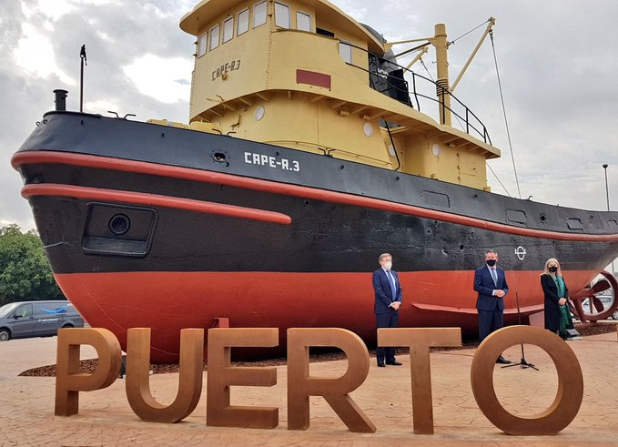 remolcador CAPE, Puerto de Sevilla,150 años,